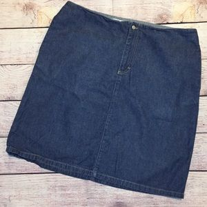 Tommy Hilfiger Denim Skirt Size 14